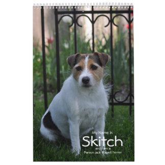 Do it yourself calendars zazzle 2018 parson russell terrier dog calendar by janz solutioingenieria Gallery