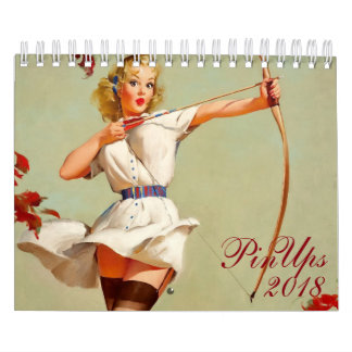 2018 Pin Up Girls Calendar