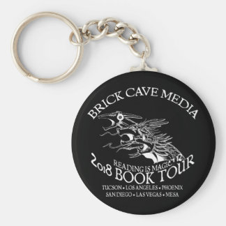 2018 Reading is Magic Book Tour Keychain