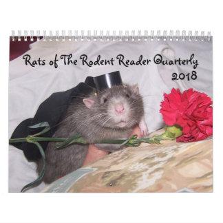 2018 Rodent Reader Calendar E