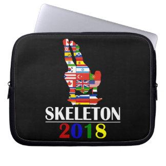 2018 SKELETON_ LAPTOP SLEEVE