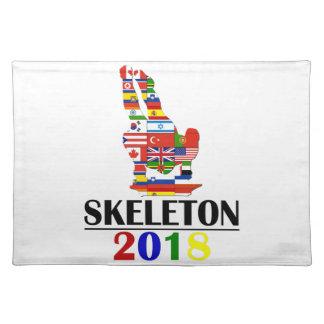 2018 SKELETON PLACEMAT