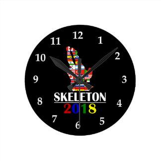 2018 SKELETON_ ROUND CLOCK