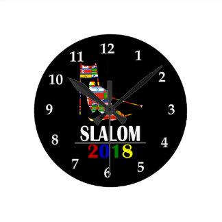 2018 SLALOM ROUND CLOCK