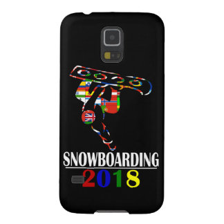 2018 SNOWBOARDING GALAXY S5 COVER
