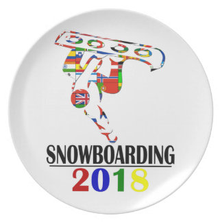 2018 SNOWBOARDING PLATE