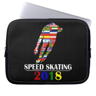 2018 SPEED SKATING LAPTOP SLEEVE