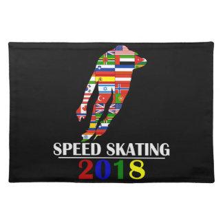 2018 SPEED SKATING PLACEMAT