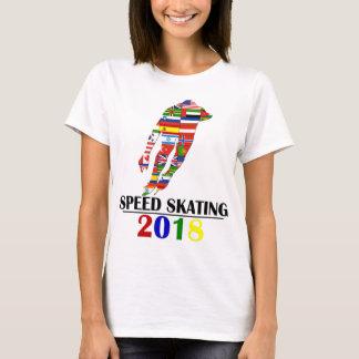 2018 SPEED SKATING T-Shirt