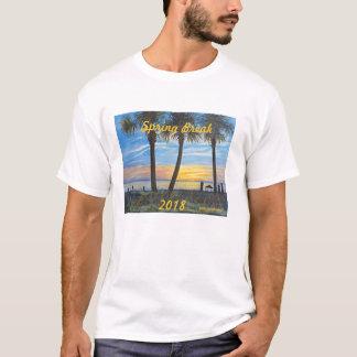 """2018 SPRING BREAK OCEAN SUNSET PALMS T-SHIRT"" T-Shirt"