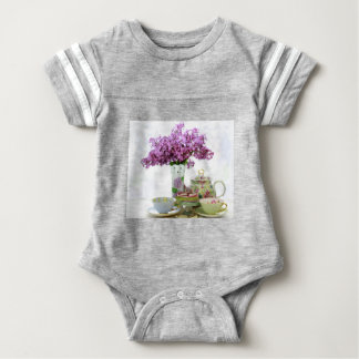 2018 Tea Time Calendar Baby Bodysuit