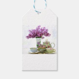 2018 Tea Time Calendar Gift Tags