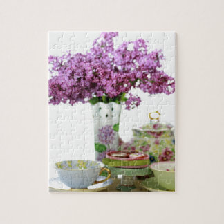 2018 Tea Time Calendar Jigsaw Puzzle