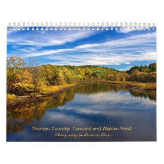 2018 Thoreau Country: Walden Pond-Concord Calendar
