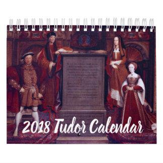 2018 Tudor Calendar