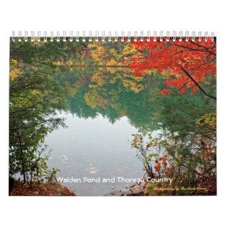 2018 Walden Pond and Thoreau Country Calendar