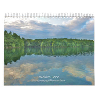 2018 Walden Pond Wall Calendar: with quotes Wall Calendar