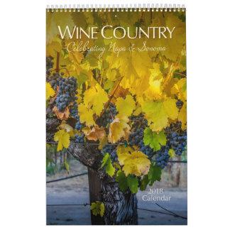 2018 Wine Country Calendar | FUNDRAISER