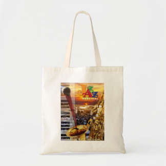 2018 Wine & Jazz Tote Bag
