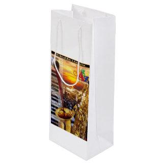 2018 Wine & Jazz Wine Tote Bag