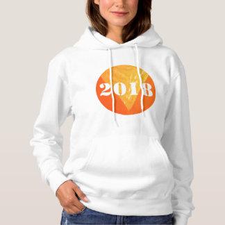 2018 Women's Basic Hooded Sweatshirt Enjoy