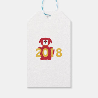 2018 Year of the Dog Gift Tags
