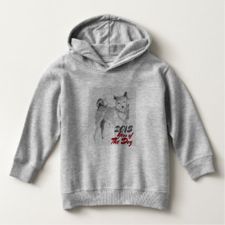 2018 Year of the Dog ink wash painting Kids Hoddie Hoodie