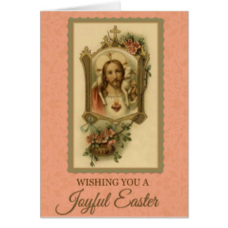 201 Happy Joyful Easter Sunday Greeting Card