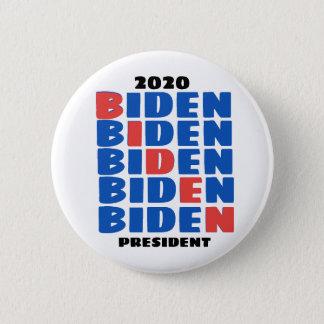 2020 BIDEN PRESIDENT 2 INCH ROUND BUTTON