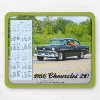 2020 Calendar Mousepad, 1956 Chevrolet 210 Car Mouse Pad