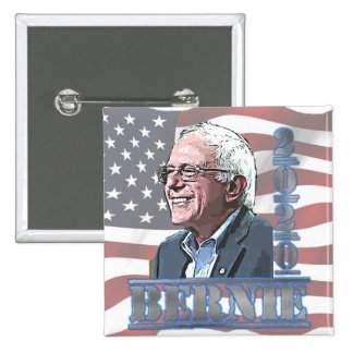 2020 Election Bernie Sanders Support Button
