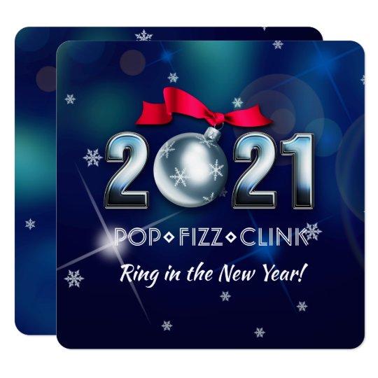 2021 New Year's Eve Party Custom Invitation Cards | Zazzle.ca