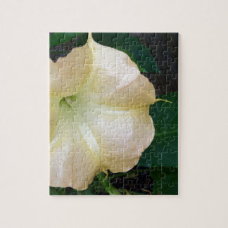 202a Angels trumpet  golden close up Jigsaw Puzzle