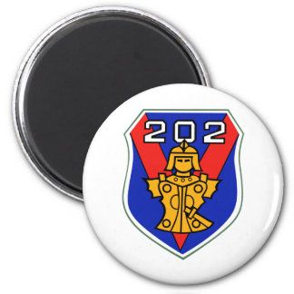 202nd flight squadron 2 inch round magnet