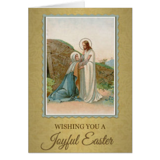 203 Happy Joyful Easter Sunday Greeting Card