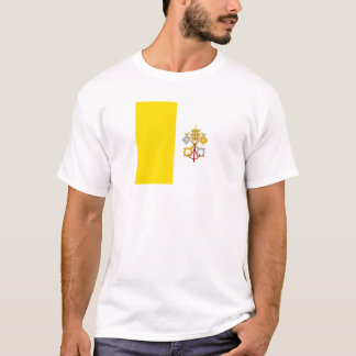 2048px-Flag_of_the_Vatican_City.svg, Stato dell... T-Shirt