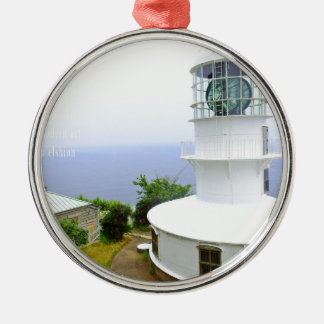 """2050 latest modern art world top artist photo "" Silver-Colored round ornament"