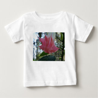 205a Angels trumpet pink close Baby T-Shirt