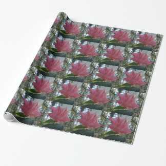 205a Angels trumpet pink close Wrapping Paper