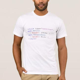 """206 cm, 6'9"""" CSS T-Shirt"""