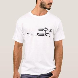206 MUSIC T-Shirt