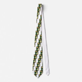 206a Angels trumpet yellow close up Tie
