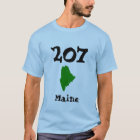 207, Area Code of Maine T-Shirt