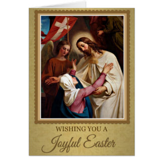 207 Happy Joyful Easter Sunday Greeting Card
