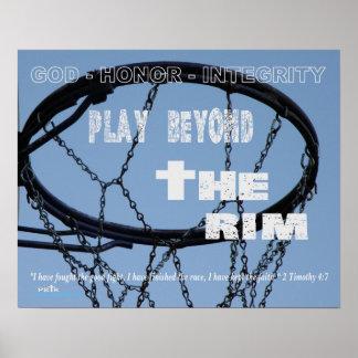 #209 (Matte) Basketball Poster