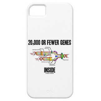 20,000 Or Fewer Genes Inside DNA Replication iPhone 5 Case