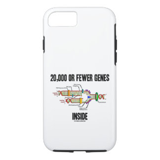20,000 Or Fewer Genes Inside DNA Replication iPhone 8/7 Case