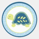 """20 - 1.5"""" Envelope Seal Sea Turtle Reef Ocean"""