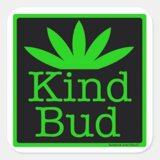 "20 - 1.5"" Kind Bud Stickers"
