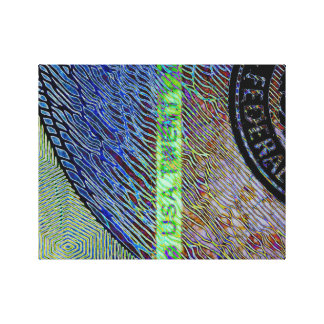 $20 Bill Canvas Print